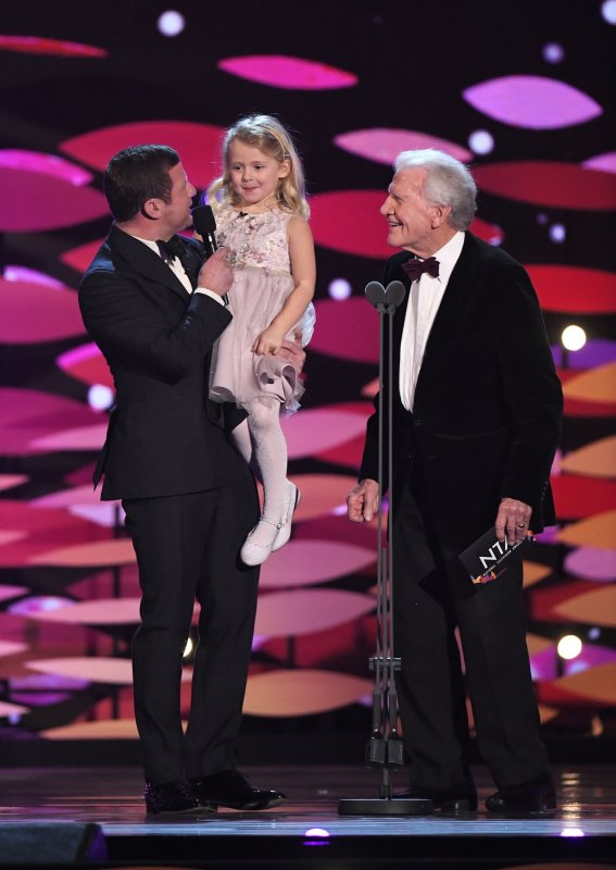 DERMOT WITH KEN & LILY FROM 'OLD PEOPLE'S HOME FOR 4 YEAR OLDS'